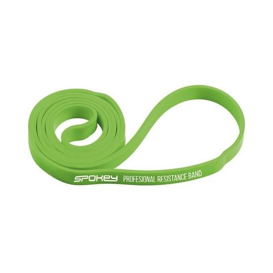 Odporová guma Spokey POWER II zelená odpor 6-10 kg