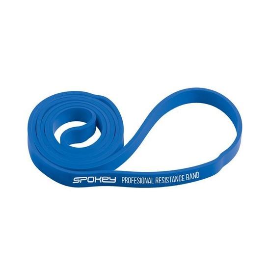 Odporová guma Spokey POWER II modrá odpor 15-20 kg