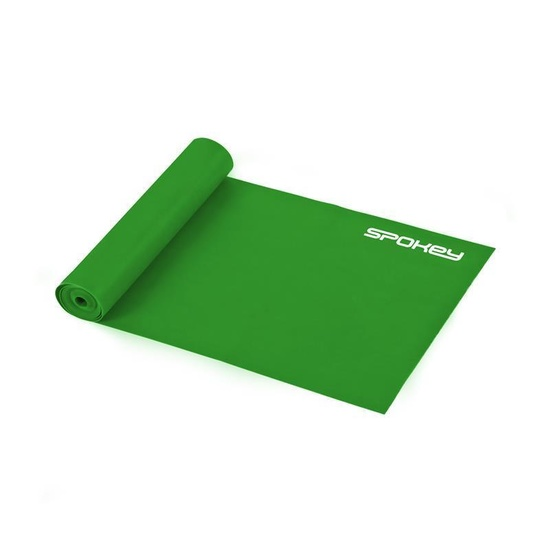 Fitness guma Spokey RIBBON II zelená medium