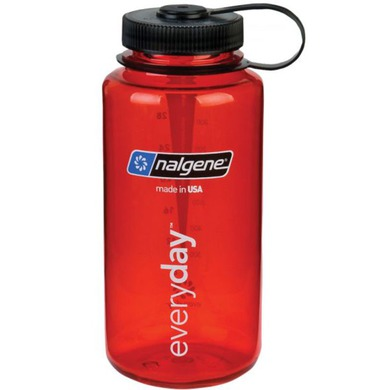 Láhev Nalgene Wide Mouth 1l 2178-2023 red