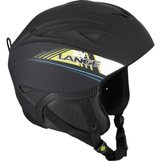 Lyžařská helma Lange RX BLUE/LIME LK1H200