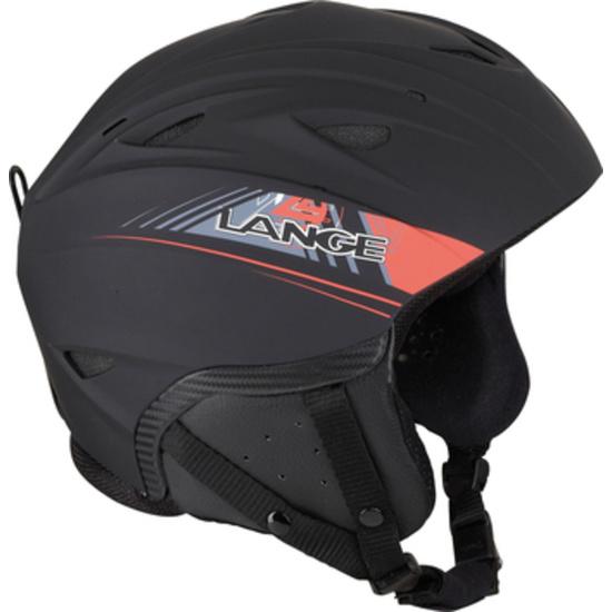 Lyžařská helma Lange RX BLACK/RED LK1H201