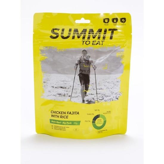 Summit To Eat dušené kuře Fajita s rýží velké balení 802201