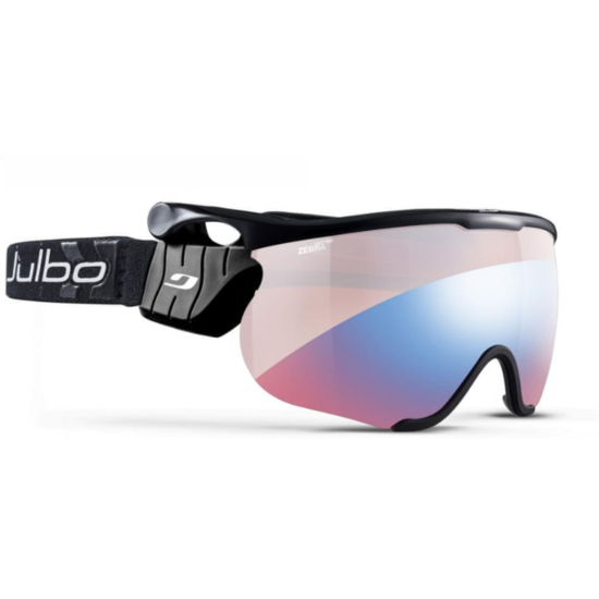 Lyžařské brýle Julbo Sniper L Zebra Light Red Black/Black