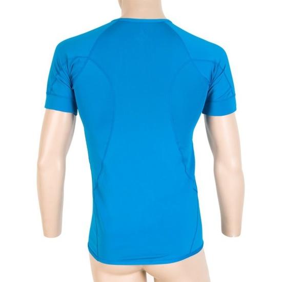 Pánské triko Sensor Coolmax Fresh modré 13000007