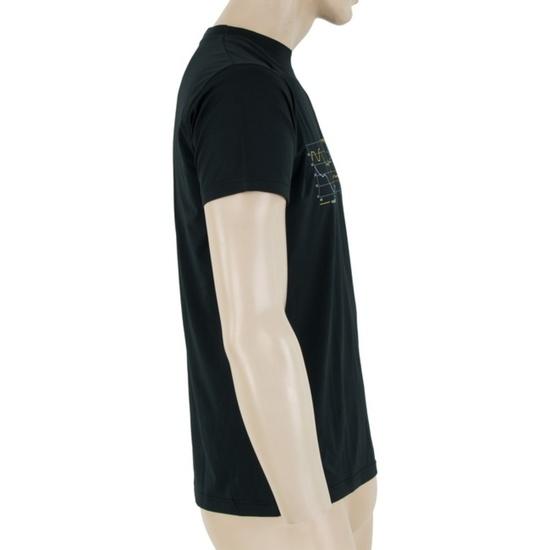 Pánské triko Sensor COOLMAX FRESH PT TRACK černé 17200048