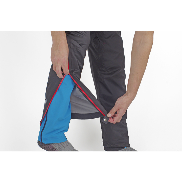 Nepromokavé kalhoty Direct Alpine Cyclone black/brick