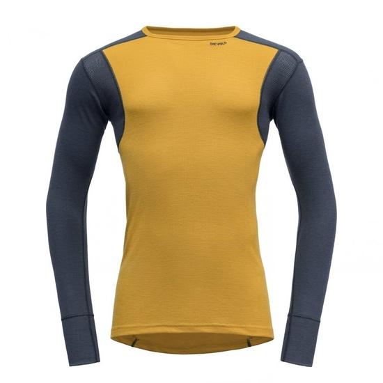 Pánské triko Devold Hiking Man Shirt Arrowwood/Night GO 245 220 B 058A