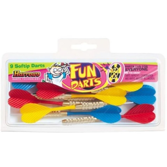 Šipky Harrows Fun Darts Softip