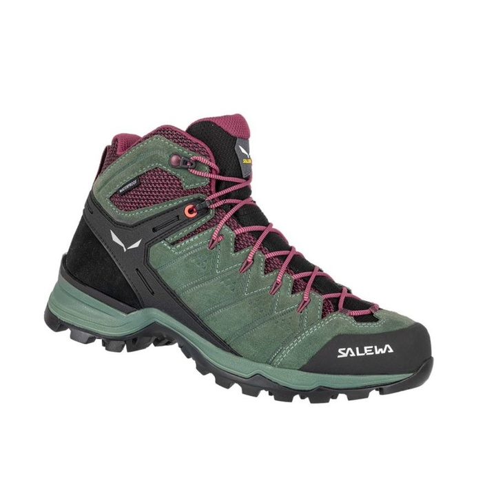 Dámské boty Salewa WS ALP MATE MID WP duck green/ghododendon