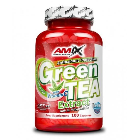 Amix Green TEA Extract with Vitamin C 100 kapslí