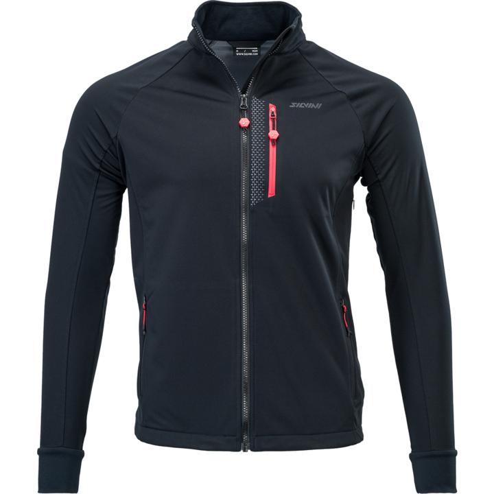 Pánská sportovní bunda Silvini Anteo MJ1743 black-red