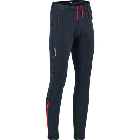 Pánské skialpové kalhoty Silvini Soracte MP1144 black/red