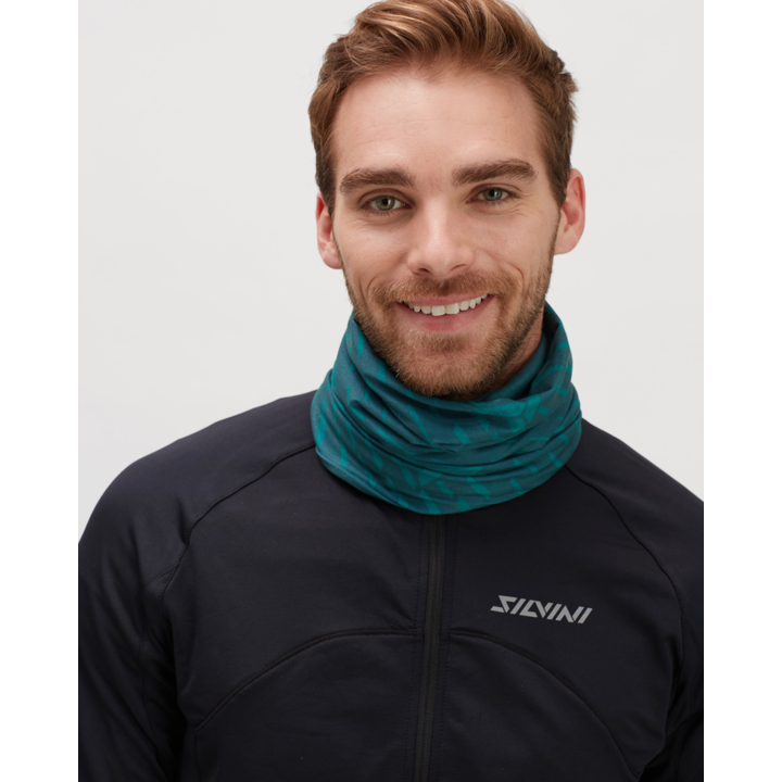 Zateplený sportovní šátek Silvini Marga UA1525 ocean