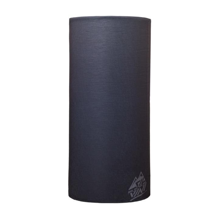 Jednovrstvý multifunkční šátek Silvini Motivo UA1730 black/grey