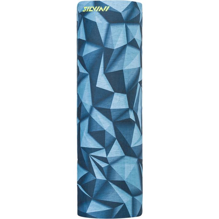 Jednovrstvý multifunkční šátek Silvini Motivo UA1730 ocean