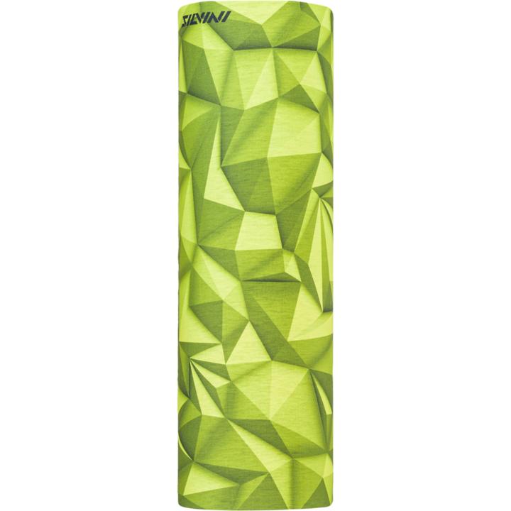 Jednovrstvý multifunkční šátek Silvini Motivo UA1730 lime/green