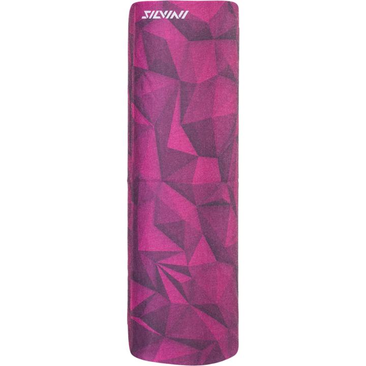 Jednovrstvý multifunkční šátek Silvini Motivo UA1730 punch