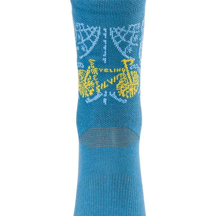 Cyklistické bikové ponožky Silvini Avella UA1815 blue