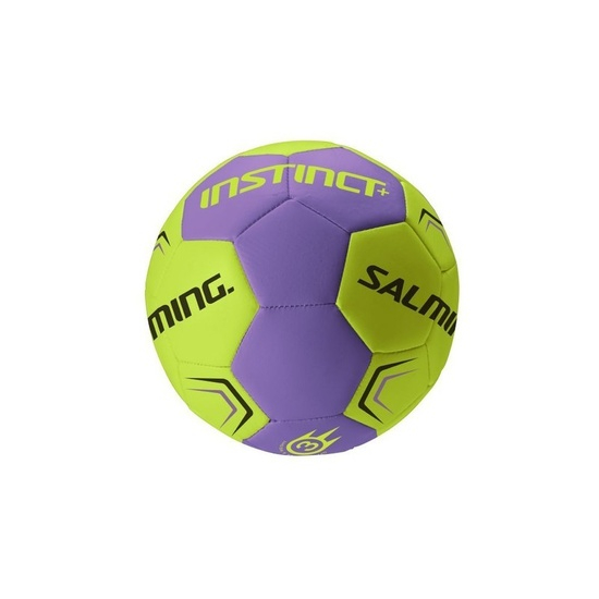 Házenkářský míč SALMING Instinct Plus Handball Purple/SafetyYellow