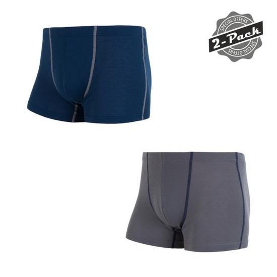 Set boxerek Sensor ORIGINAL ACTIVE 2-PACK šedá/modrá 17200052