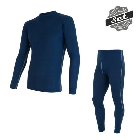 Pánský set Sensor ORIGINAL ACTIVE SET triko+spodky tmavě modrý 17200051