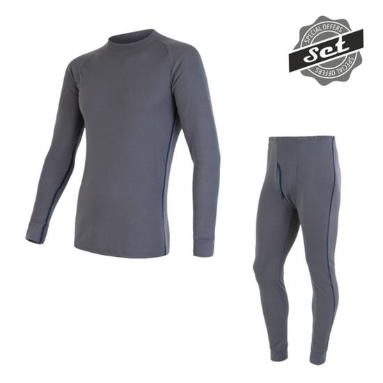 Pánský set Sensor ORIGINAL ACTIVE SET triko+spodky šedý 17200050