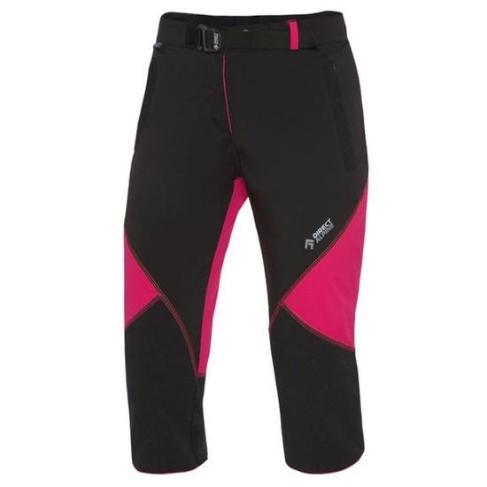 Kalhoty Direct Alpine Civetta 3/4 Lady black/rose