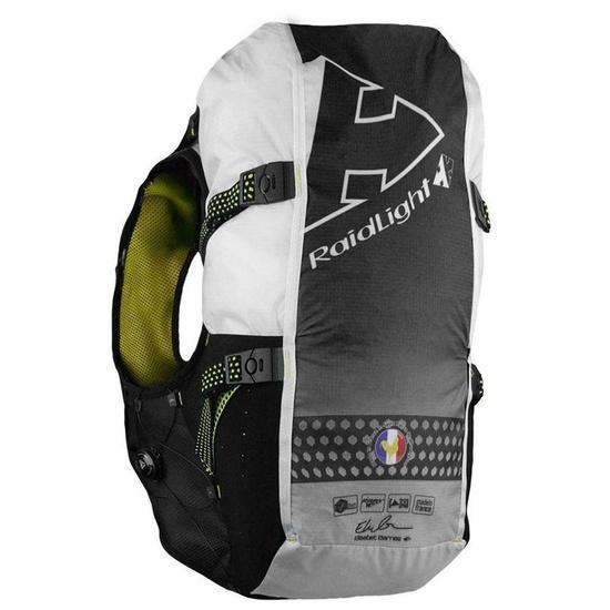 Běžecká vesta Raidlight Gilet LazerDry Responsiv 20L+2*600ml Black/Yellow