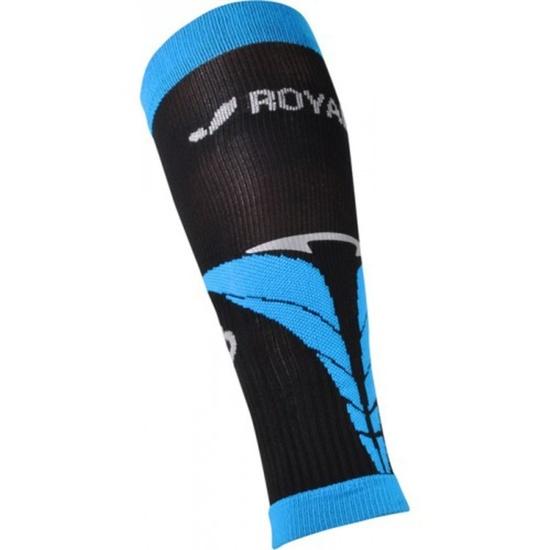 Kompresní lýtkové návleky ROYAL BAY® Air Black/Blue 9588