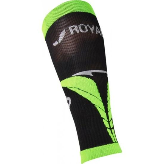 Kompresní lýtkové návleky ROYAL BAY® Air Black/Green 9688