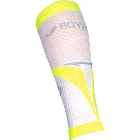 Kompresní lýtkové návleky ROYAL BAY® Air White/Yellow 0188