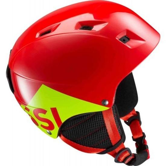 Lyžařská helma Rossignol Comp J red RKGH508