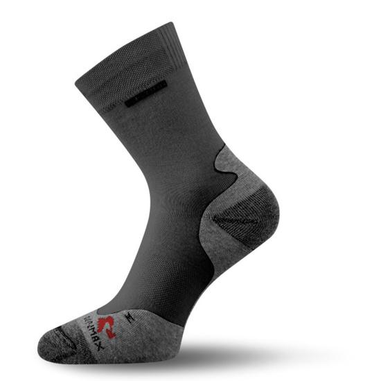 Ponožky Lasting RNB barva-kombinace: černá/šedá