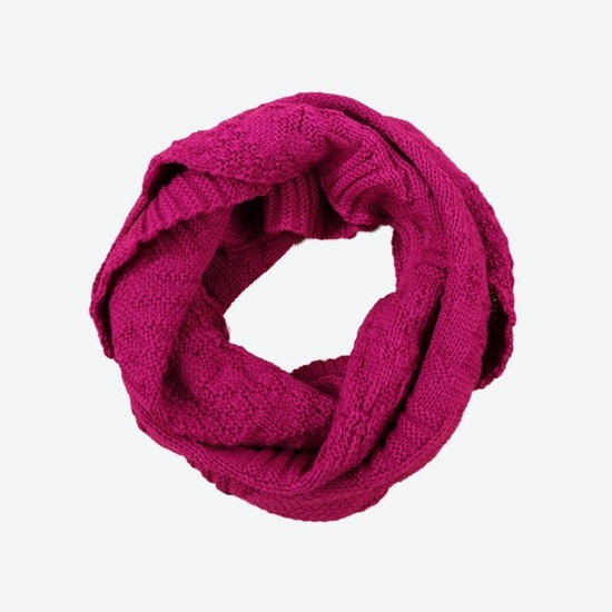 Pletený nákrčník Kama S20 114 růžová