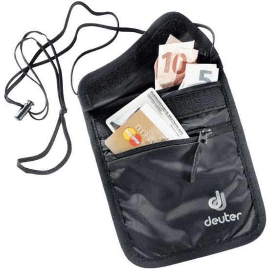 Peněženka na krk Deuter Security Wallet II black (3942116)