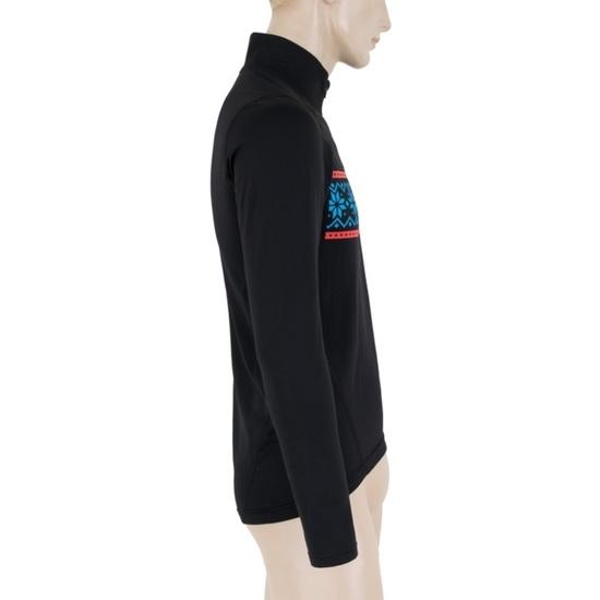 Pánské triko Sensor THERMO černá/vzor 17200058
