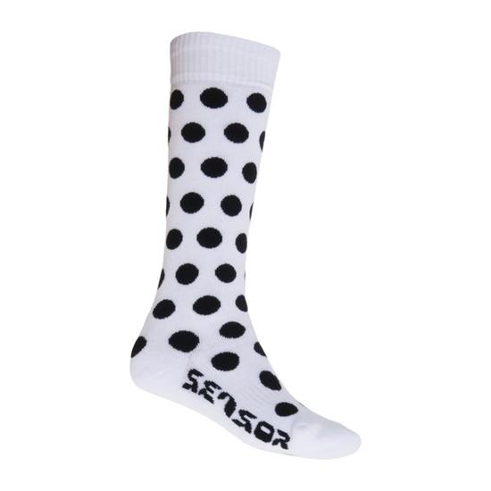 Ponožky Sensor Thermosnow Dots bílé 15200064