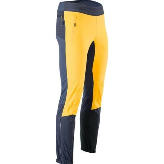 Pánské kalhoty na běžky Silvini MAZARO MP1110 yellow-charcoal