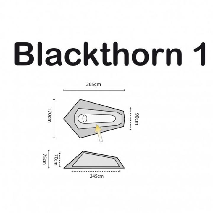 Stan Highlander Blackthorn 1 zelený