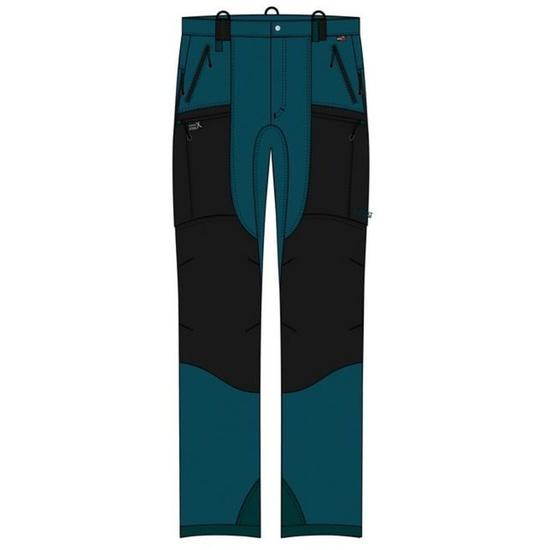 Kalhoty Direct Alpine Apache petrol/black