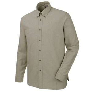 Košile Salewa FANES LINEN 2 CO M L/S SHIRT 26365-5759, Salewa