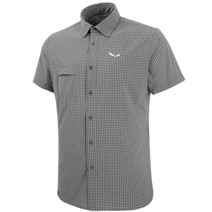 Košile Salewa FANES PUEZ MINI CHECK DRY M S/S SHIRT 26587-0921, Salewa