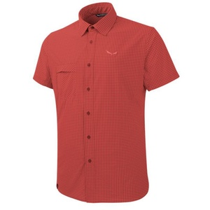 Košile Salewa FANES PUEZ MINI CHECK DRY M S/S SHIRT 26587-1644, Salewa