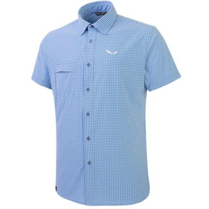 Košile Salewa FANES PUEZ MINI CHECK DRY M S/S SHIRT 26587-3438, Salewa