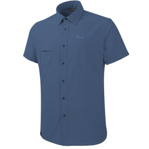 Košile Salewa FANES PUEZ MINI CHECK DRY M S/S SHIRT 26587-8746, Salewa