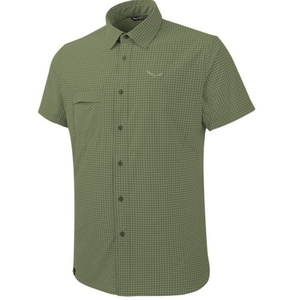 Košile Salewa FANES PUEZ MINI CHECK DRY M S/S SHIRT 26587-5758, Salewa