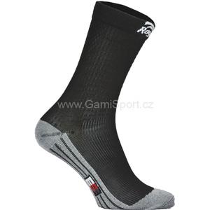 Ponožky s mírnou kompresí Rogelli DRYARN CARBON 007.121, Rogelli
