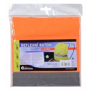 Batoh reflexní S.O.R. oranžový, Safety on Road