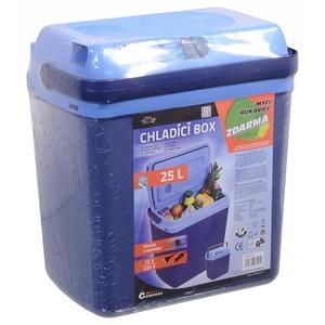 Chladící box s ohřevem Compass 25l BLUE 230/12V display s teplotou, Compass